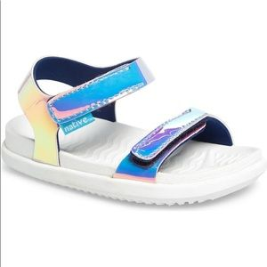 Native Shoes - Native Charley Holographic Strappy Sandal